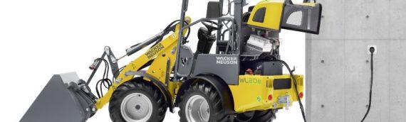 la cargadora eléctrica sobre ruedas WL20e de WACKER NEUSON